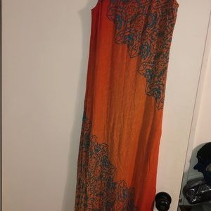 Used Tommy Bahama long dressed lined size small